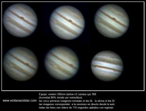 Júpiter Rotación