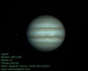 Júpiter  19-12-2014