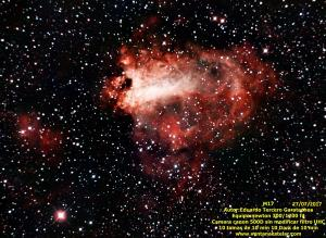 M17 (Nebulosa Omega)