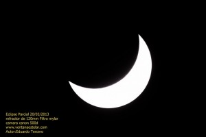 Eclipse de sol 20/03/2013