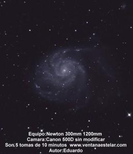 M101 Galaxia Espiral