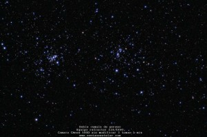 NGC 869 y  NGC 884 Perseo